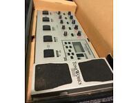 Korg guitar multi effects processor AX1000G