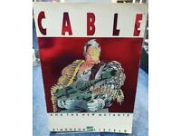CABLE AND THE NEW MUTANTS (Marvel) Graphic Novel / Trade Paperback VG Cond.