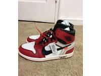 Off White x Nike Air Jordan 1 UK 9