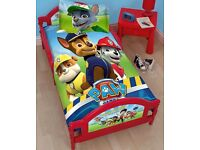 Red Paw Patrol Bed