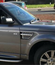 Range Rover sports front grill and side vents