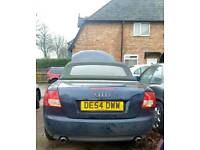 A4 cab cabriolet breaking car parts spares hood bfb gearbox door boot roof