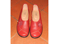 HOTTERS Shoes Size UK7.5 LAYLA flat heels - very little worn