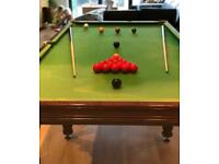 Pool/Snooker table for sale- £180 or open to offers