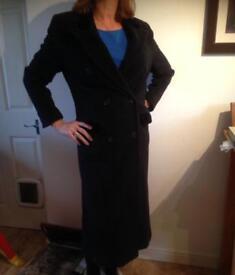 Vintage Liberty Ladies Navy Blue Coat
