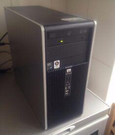HP DC5850 Desktop PC - Windows 7 Pro, AMD Athlon X2 2.30GHz, 2GB RAM, 80GB Hard Drive, DVD-RW