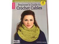 Beginners Guide To Crochet Cables