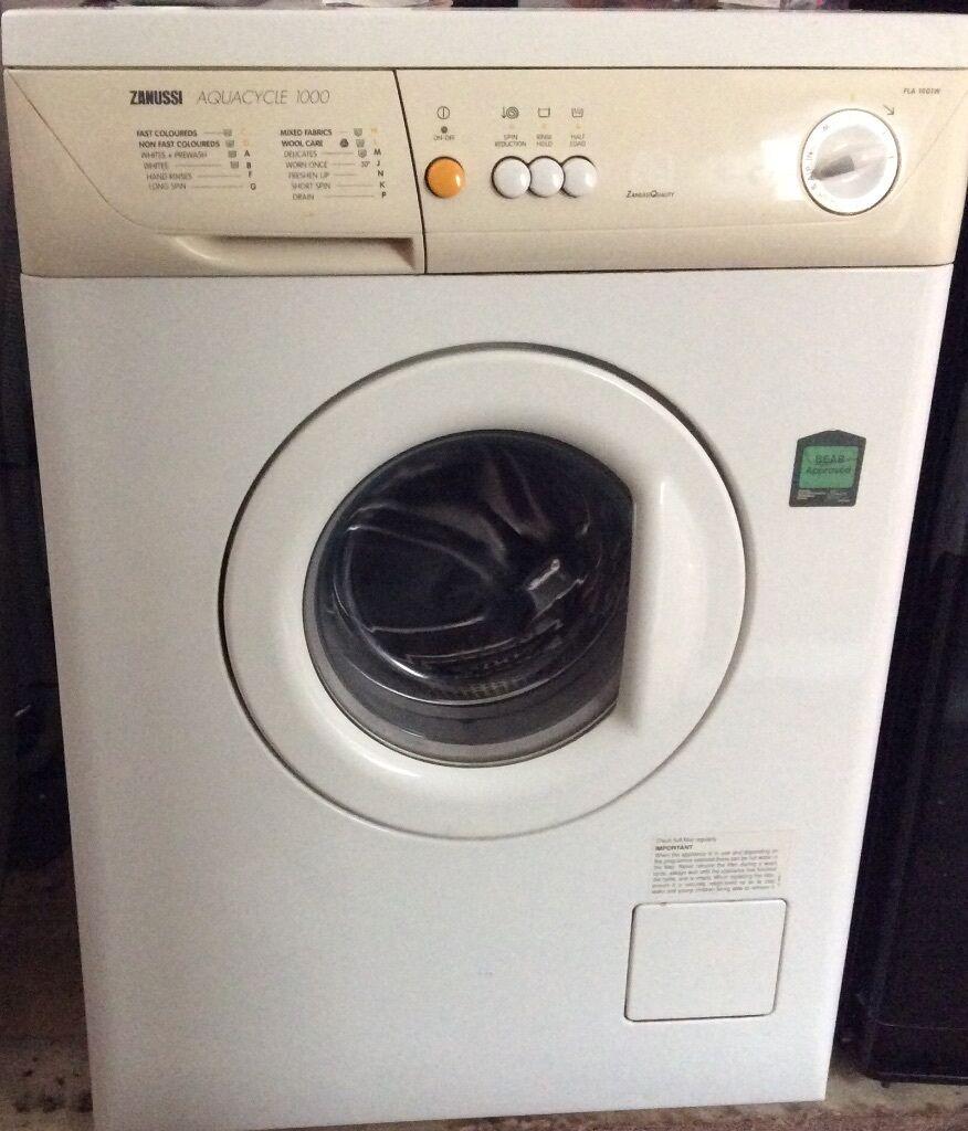 Zanussi Aquacycle 1000 Washing Machine Model Fla1001w