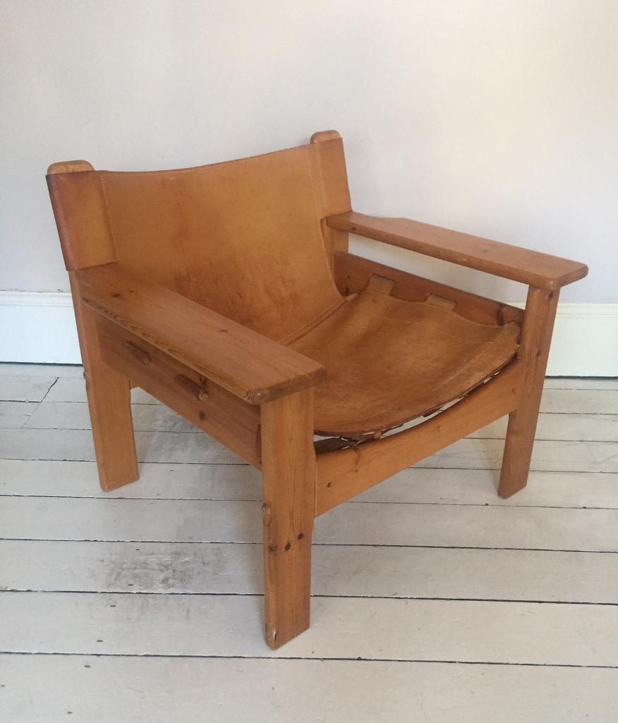 vintage 70s furniture. Vintage Danish Leather Chair Mogensen Style Retro 50s 60s 70s Mid Century Furniture