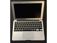 """Apple MacBook Air 11.6"""" 1.7Ghz, Intel Core i5, 4GB RAM, 128GB SSD (Mid 2012) NEW BATTERY (12 CYCLES)"""