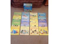 2 collections of books: Usborne set of 20 stories. Ladybird 20 books to help your learn to read.