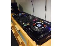 Pioneer cdj mk3 1000 full dj set up