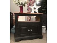 Tv unit painted in Annie Sloan