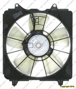 Radiator Fan Assembly Sedan/Coupe Automatic Transmission Denso 1.8L Honda Civic 2006-2011