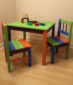 Childrens' Table & Chairs