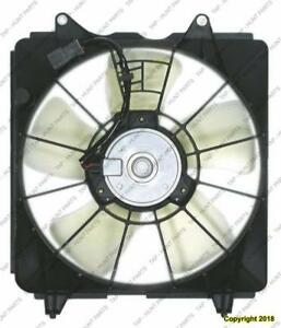 Radiator Fan Assembly Sedan/Coupe Automatic Transmission Denso 1.8L Honda Civic 2006-2011