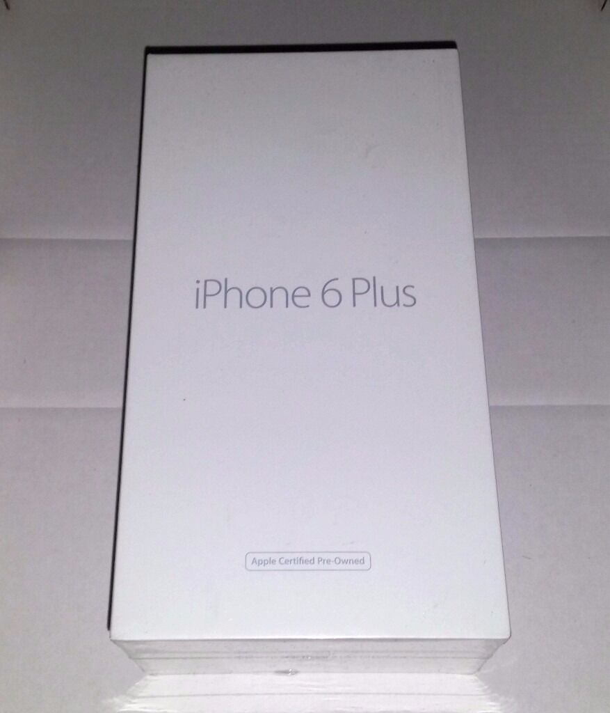 Apple iPhone 6 Plus Space Gray 16GBNEW SEALEDin Tower Hamlets, LondonGumtree - Apple iPhone 6 Plus Space Gray 16GB Factory Unlocked 1 Year Apple Warranty This Is A Pre Owned Brand New Sealed Item That Im Selling Cash on Collection from East London or eBay item number 152525180637 Please Do Not Hesitate To Contact Me If You Have...