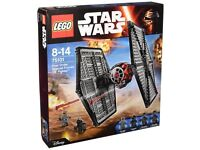 Star Wars Lego First Order Tie Fighter - 75101