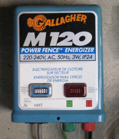 Gallagher M120 Mains electric fence unit