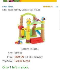 Little tikes activity garden.