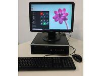 HP i5 Quad Core 8gb Windows 10 PC - SCHOOL Uni ROBLOX gaming ++ FREE DELIVERY ++