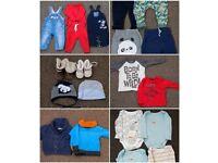 Baby boy clothes bundle 9/12 months 20 Items