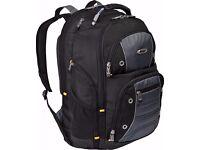New Targus Drifter II Backpack for 17-Inch Laptop, Black/Gray (TSB239US)