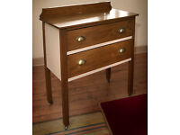 vintage oak dresser / antique chest of drawers (free delivery within midlothian)