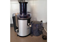 Philips HR1861 Aluminium Whole Fruit Juicer - lightly used, working, great condition