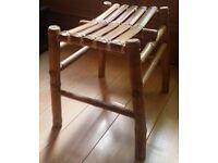 Bamboo stool Leith