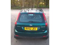 Ford Fiesta - 2002 - Manual - very economic to run - and Road Tax £30p/a