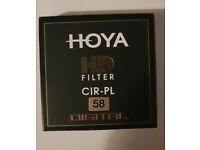 Hoya HD Filter Cir-PL 58mm