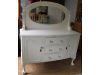 Stunning Refurbished french Style Mirror Back Dresser - WE CAN DELIVER