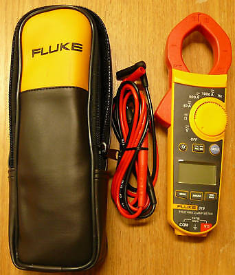 Fluke 319 New True Rms Clamp Meter With Backlight F319