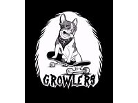 GROWLERS dog walkers/pet sitters