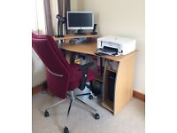 Lovely big office/computer chair hardly never used