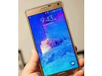 Samsung Galaxy Note 4 32gig +sd sim free