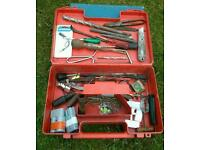 Box of various different tools