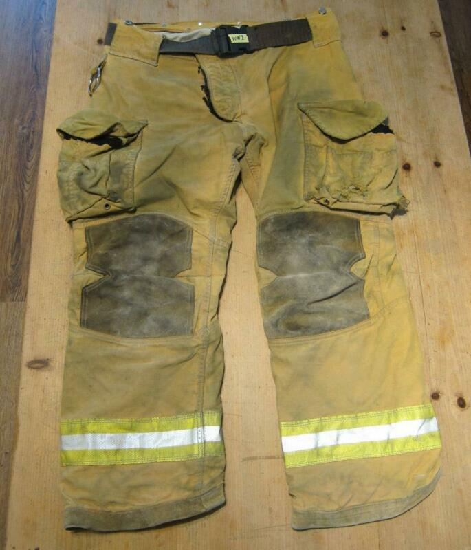Lion Janesville Firefighter Fireman Turnout Gear Pants Size 38L - [B] (WW1)