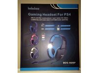 NEW Gaming Headset for PS4