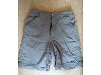 Helly Hansen Grey Mens Shorts
