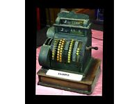 """Old Brass National Cash Register .... Wanted ... please ........... Any Condition Considered."""