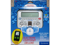 Electronic Countdown game with electronic Sudoku, boxed as new.