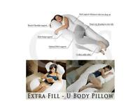 Nursing Maternity Pregnancy Pillow with Removable Cover