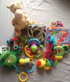 Baby cot/buggy toy bundle 2 £3 HAROLD HILL