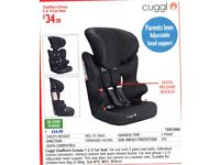 Cuggl Car Seat. New Condition. Used One week.