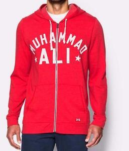 under armour Muhhamad Ali hoodie size XXL