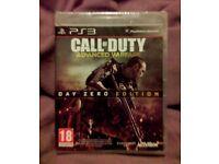 Call of Duty Advanced Warfare PS3 *Sealed / Brand New* -Day Zero Edition-