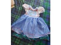 Girls princess dresses and cat costume ages 7-8