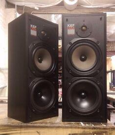 Vintage KEF Cara Speakers, high sensitivity